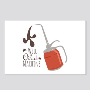 Well Oiled Machine Postcards (Package of 8)