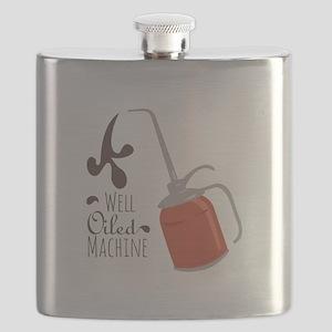 Well Oiled Machine Flask