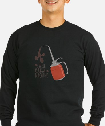 Well Oiled Machine Long Sleeve T-Shirt
