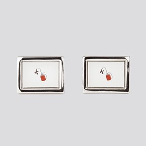 Oil Can Rectangular Cufflinks