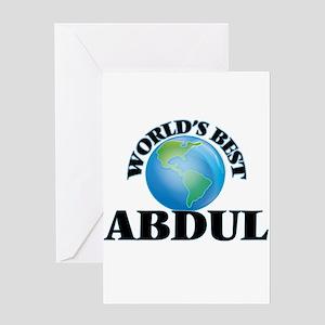 World's Best Abdul Greeting Cards