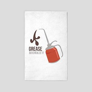 Grease Monkey 3'x5' Area Rug