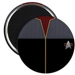 DS9 Red Admiral Uniform Magnet