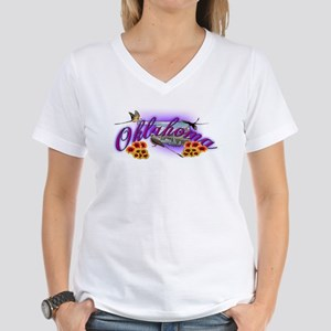 Oklahoma Women's V-Neck T-Shirt
