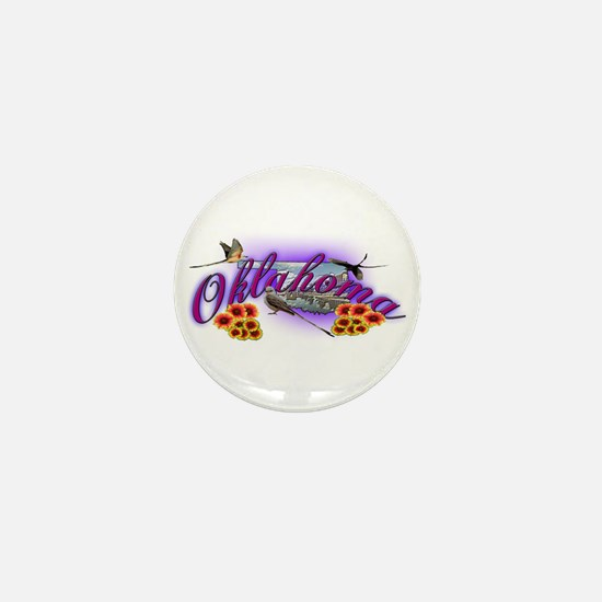 Oklahoma Mini Button