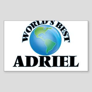 World's Best Adriel Sticker