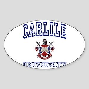 CARLILE University Oval Sticker