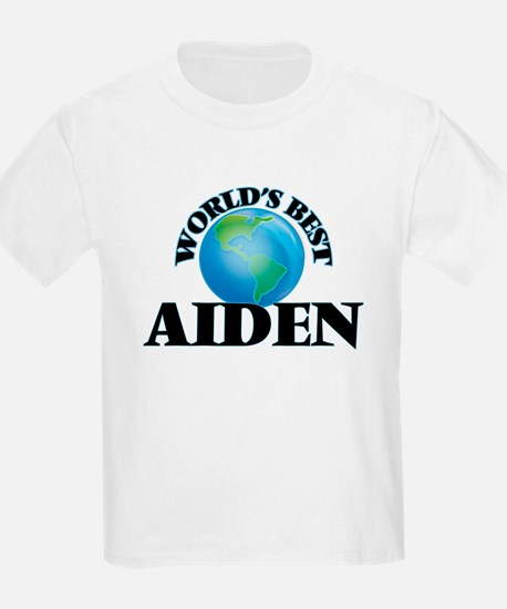 World's Best Aiden T-Shirt