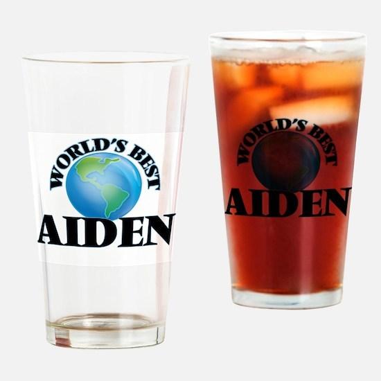 World's Best Aiden Drinking Glass