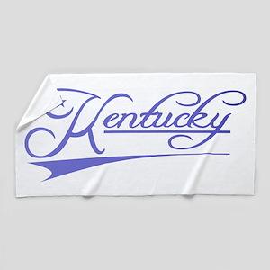 Kentucky State of Mine Beach Towel