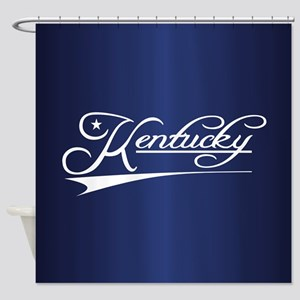 Kentucky State of Mine Shower Curtain
