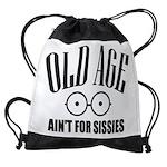 Old Age Drawstring Bag