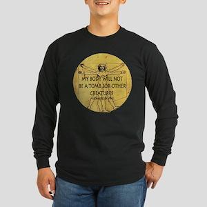 Body Tomb Long Sleeve Dark T-Shirt