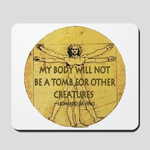 Body Tomb Mousepad