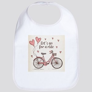 Let's go for a ride Baby Bib