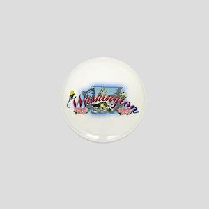 Washington Mini Button
