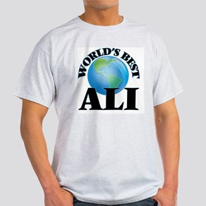 World's Best Ali T-Shirt