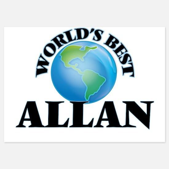 World's Best Allan Invitations