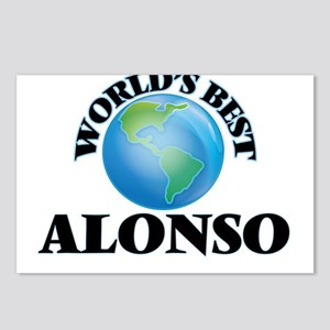World's Best Alonso Postcards (Package of 8)