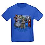Vancouver Canada Souvenir Kids Dark T-Shirt