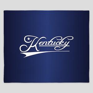 Kentucky State of Mine King Duvet