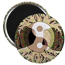 Yin Yang Mandala Magnets