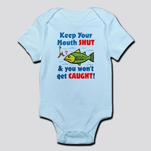 Keep Your Mouth Shut! Infant Bodysuit