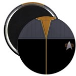 DS9 Gold Admiral Uniform Magnet