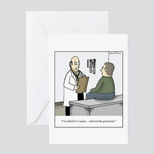 Good kind of cancer Greeting Card