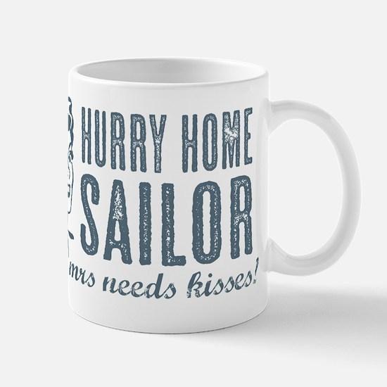 Hurry Home Sailor Mug