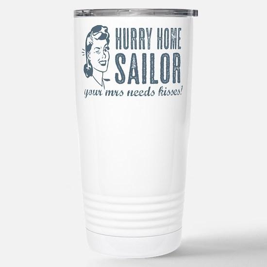 Hurry Home Sailor Travel Mug