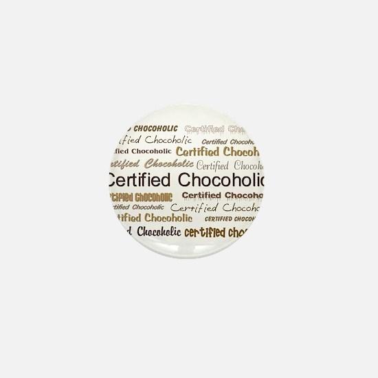 Certified Chocolate Mini Button