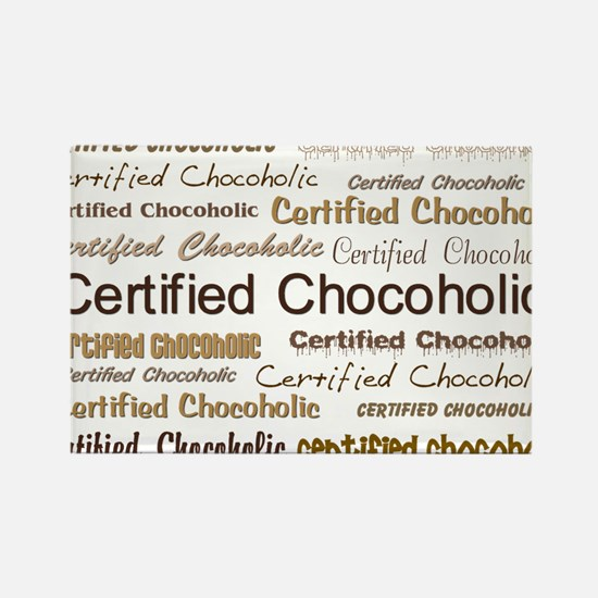 Certified Chocolate Rectangle Magnet (100 pack)