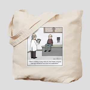 At Least One Med Tote Bag