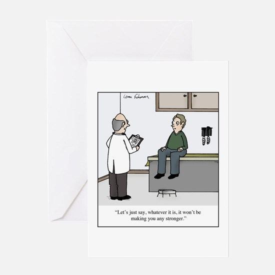 It Won't Make You Stronger Greeting Card