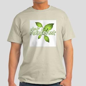 Save the rainforest 2 Light T-Shirt