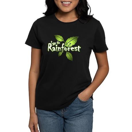 Save the rainforest 2 Women's Dark T-Shirt