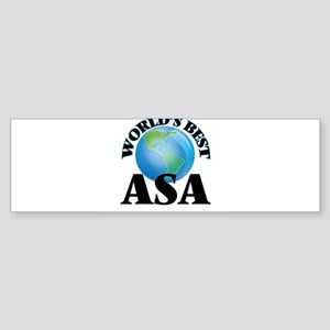 World's Best Asa Bumper Sticker