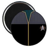 DS9 Blue Admiral Uniform Magnet