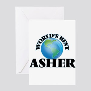 World's Best Asher Greeting Cards