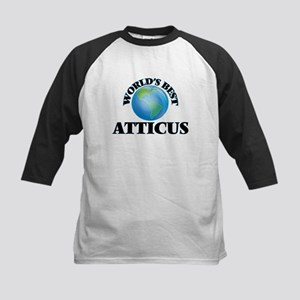 World's Best Atticus Baseball Jersey