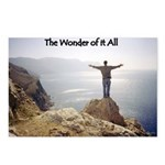 The Wonder of it All Christian Postcards (8 pack)