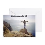 Wonder of it All Christian Greeting Cards (10pk)