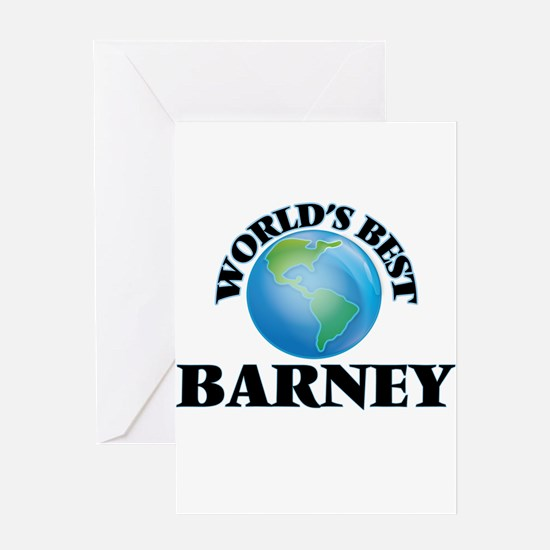 World's Best Barney Greeting Cards