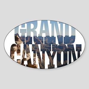 Grand Canyon Oval Sticker