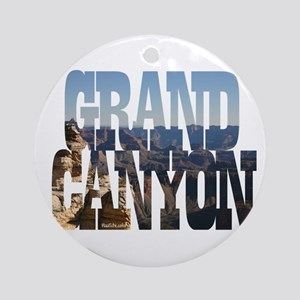 Grand Canyon Ornament (Round)