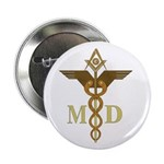 Masonic Medical Doctors Button