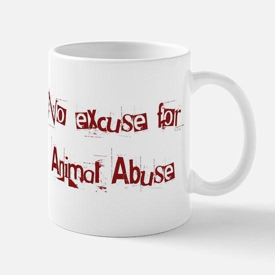 No Animal Abuse Mugs