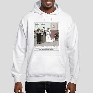 Wedding Vow Disaster Hooded Sweatshirt