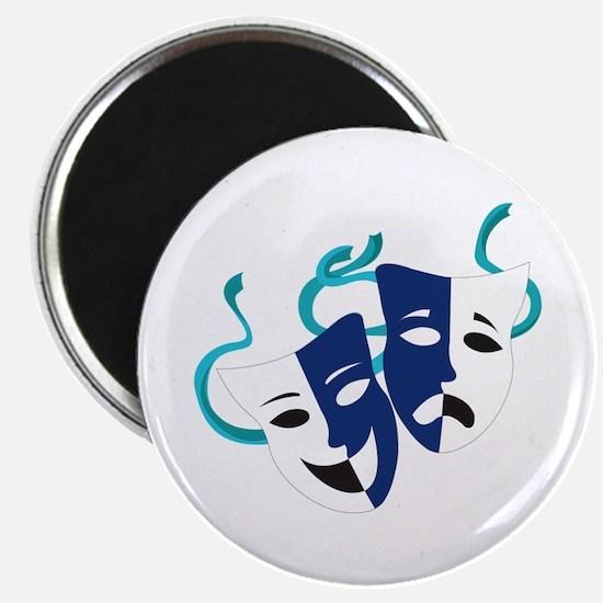 Drama Masks Magnets
